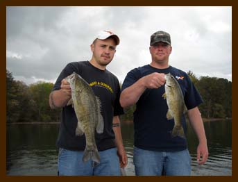 Guided bass fishing trips in the mountains for Lake blue ridge fishing