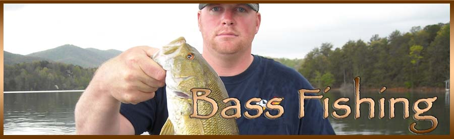 Bass Fishing in the Mountains