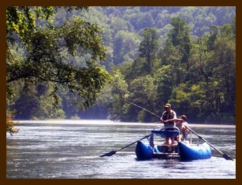 Drift Boat Trip on the Chattahoochee River