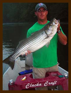 Stripper Fishing Float Trip on the Hiwassee River