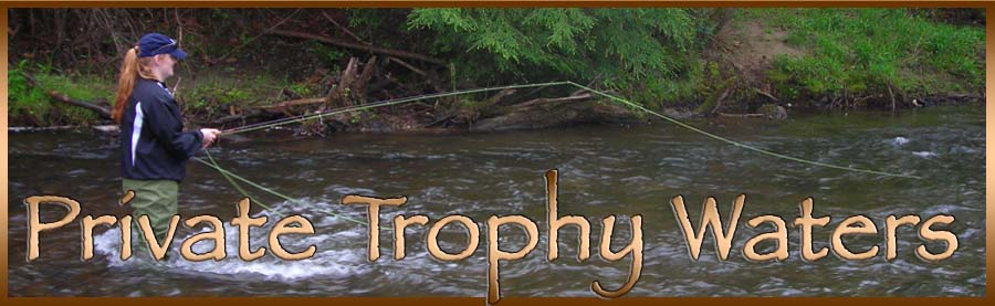 Private Trophy Trout Waters in the Mountains